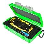 Bobina de compensación con cable para reflectómetro (OTDR) ORIENTEK FL-OTDR-BOX-SM705