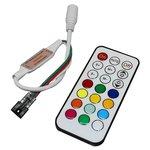 Контроллер с ИК пультом TH2015-X-IR (RGB, WS2811, WS2812, 12 В)