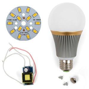 Комплект для сборки LED-лампы SQ-Q23 5730 E27 7 Вт – теплый белый