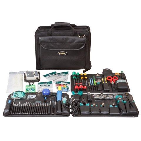 Набір інструментів Pro'sKit 1PK 19382B для монтажу телекомунікаційних мереж