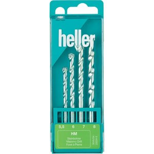 Набір свердел твердосплавних Heller 23324