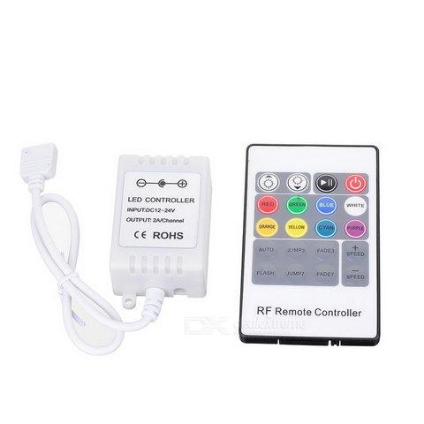 Контролер з радіопультом HTL 43 RGB, 5050, 3528, 72 Вт