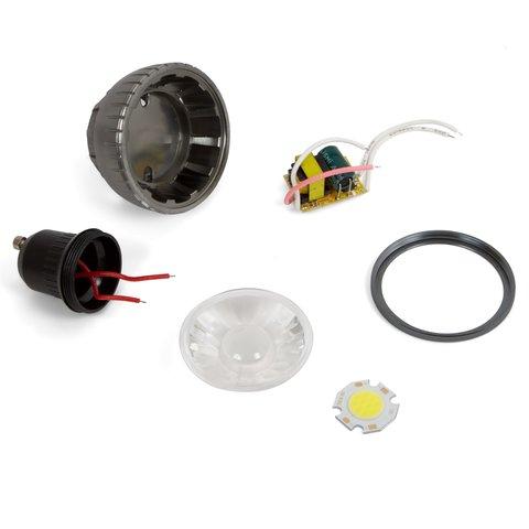 Комплект для збирання світлодіодної лампи TN A71 3 Вт холодний білий, GU10