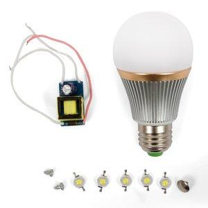 Комплект для збирання світлодіодної лампи SQ-Q22 5 Вт (природний білий, E27)