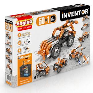 STEAM-конструктор Engino Inventor 50 в 1 с электродвигателем