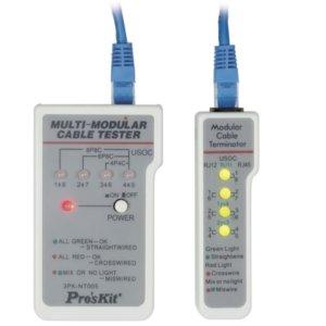 Pro'sKit 3PK-NT005N Multi-Modular Cable Tester