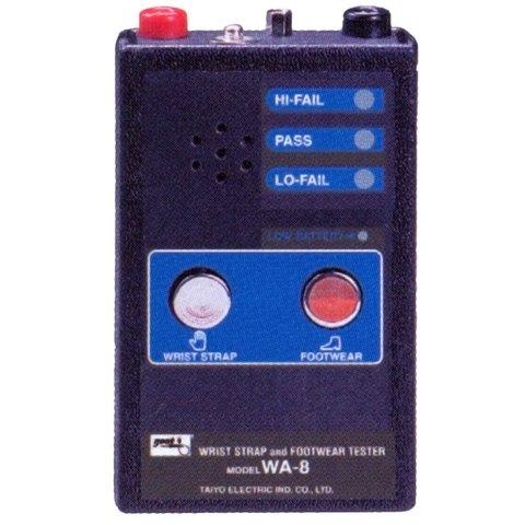 Wrist Strap and Footwear Resistivity Tester Goot WA 8