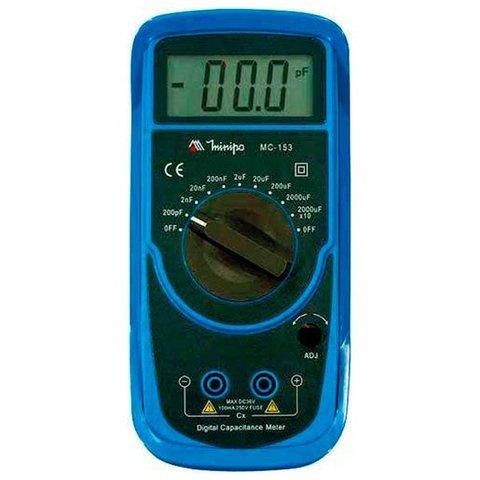 Digital Capacitance Meter Minipa MC 153