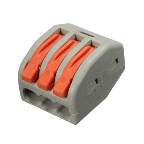 3 pin Electrical Wire Connector 250 V 30 A